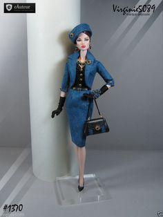 Tenue Outfit Accessoires Pour Fashion Royalty Barbie Silkstone Vintage 1370 | eBay