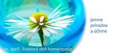 10. apríl - Svetový deň homeopatie Plants, Plant, Planets