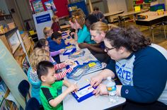 Collaboration yields literacy, music lessons for kids with special needs (Indiana State University)