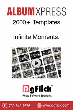 The ‪#‎AlbumXpress‬ comes with 2000+ ready templates for you to use.Get a free trial now http://goo.gl/giX32H . Or you can buy it at ‪#‎BHSuperStore‬ http://goo.gl/fCqQRF