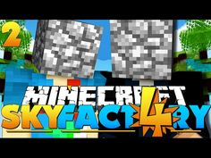 awesome Minecraft: SkyFactory 4 -#SAVETHECOBBLE