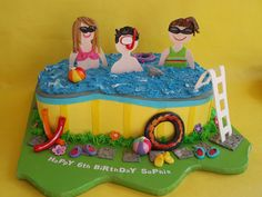 Pool+Party+Cakes+For+Girls | Recent Photos The Commons Getty Collection Galleries World Map App ...