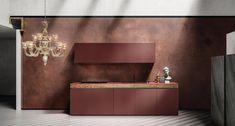 Кухни Кухня SEI 4, Фабрика Euromobil Cucine, SEI4 - Comodo Джайпур, Мебель Для Дома, Дизайн Мебели, Полы, Дизайн Интерьера, Современная Мебель, Столешница, Обручальное Кольцо