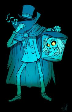 With the re-introduction of the Hatbox Ghost in Disneyland's Haunted Mansion, I thought it was great time to promote the amazing Hatbox Ghost Film Disney, Disney Diy, Disney Love, Disney Magic, Disney Pixar, Haunted Mansion Disney, Haunted Mansion Tattoo, Haunted Mansion Wallpaper, Disney Halloween