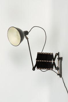 Swiss Industry Scissor Lamp 30's