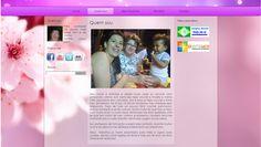 Página Quem sou do site Mariartesanato