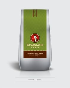 Ermeidis Coffees by togetherdesign.gr , via Behance