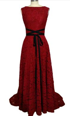 A - ligne round collar lace lace robe #prom #promdress #dress #eveningdress #evening #fashion #love #shopping #art #dress #women #mermaid #SEXY #SexyGirl #PromDresses
