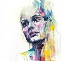 Agnes Cecile// Watercolor Paintings