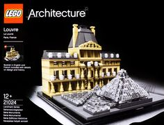 21024 Louvre is an Architecture set released in 2015. Celebrate the world of architecture with the LEGO® Louvre set!