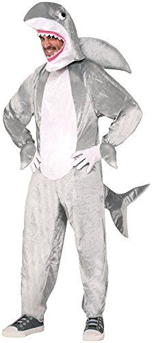 Forum Novelties Mens Shark Mascot Costume Gray Standard ** Check this awesome product by going to the link at the image.