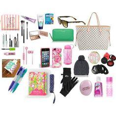 20 Whats In My Purse Teens – Herzlich willkommen What's In My Purse, Whats In Your Purse, What In My Bag, What's In Your Bag, What's In My Backpack, Backpack Purse, My Bags, Purses And Bags, Inside My Bag