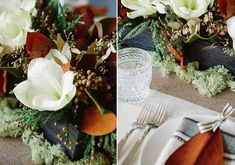 Magnolia wedding decor ideas | 100 Layer Cake