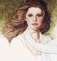 Lindsay Wagner by Richard Amsel