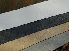 Lambskin Lamb leather strip pack for Sami Bracelet, 25mm wide x 20cm strips (each makes 1 bracelet) White, Light Grey, Charcoal, Beige - 4pc by 62DegreesNorth on Etsy