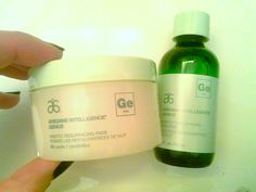 Review, Ingredients, Swatches: Arbonne Intelligence Genius Nightly Resurfacing Pads, Solution, Intelligence CC Cream With 10-in-1 Beauty Benefits   BeautyStat.com
