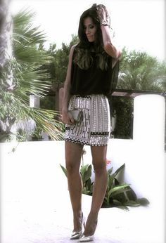48 Cute Street Fashion With Silver And Gold Details For Autumn 2013 - Fashion Diva Design