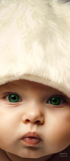 Ojos verdes!!! www.carelia.es