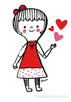 ♥ AMOR y CORAZONEZ ♥ by Happy Doodle Land