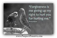 Forgiveness is key to life
