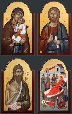 Orthodox Icons, Holy Quotes, Sf, Baseball Cards, Christ, Prayers, Stuff Stuff, Byzantine Icons, Weaving