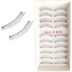 10pairs lot false eyelashes eye lashes wholesale Full Strip Lashes eyelash extension makeup #Affiliate