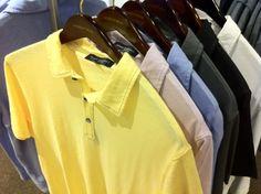 These Robert Barakett polos might be the most comfortable shirts I've ever worn.  Great for the summer!