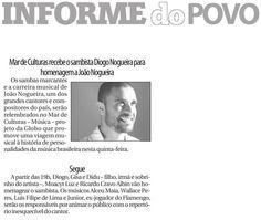 #DiogoNogueira 2015 #JoãoNogueira #Globo #PovoDoRio