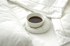 Coffee coaster for coffee in bed! Love love love