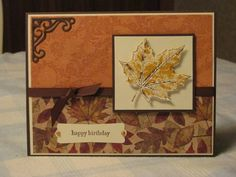 Fall Birthday by suelynnbee - Cards and Paper Crafts at Splitcoaststampers