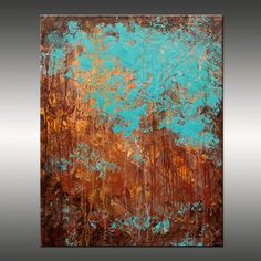 Original Abstract Modern Painting - Title, Recollection - 24x30 Inches…