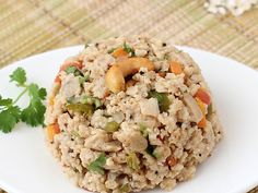 Oats Upma - Healthy breakfast Dish  It is prepared with oats, carrot, tomato, capsicum, onion and basic Indian spices