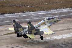 """Mikoyan Mig-29KUB """"Fulcrum D"""" two seat carrier capable fighter/strike/trainer & with enhancements a possible AWACs a/c. Principle user is the Indian Navy rather than Russia."""