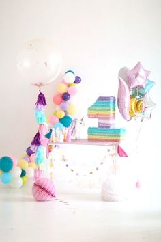 Pastel Unicorn Birthday Party on Kara's Party Ideas | http://KarasPartyIdeas.com (10)