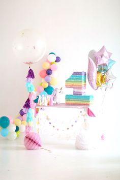Pastel Unicorn Birthday Party on Kara's Party Ideas   http://KarasPartyIdeas.com (10)