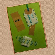 Beterschapskaart, zelfgemaakte beterschap kaart, zelfmaken, handmade, easy get well card, d.i.y.