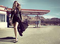Provocative Woman: Rosie Huntington-Whiteley for Vogue Brasil, April 2013