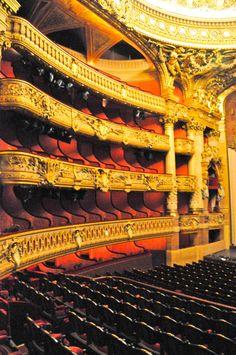 Palais Garnier Opéra de Paris France - Auditorium - Ampitheatre