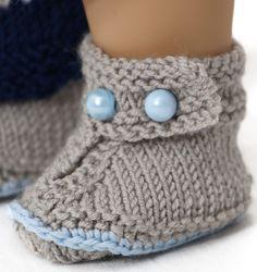Puppenkleider stricken Baby born - Elegantes Outfit für Ihre Puppe