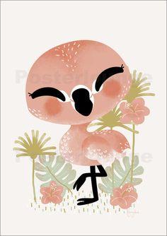 Kanzi Lue - Tierfreunde - Der Flamingo