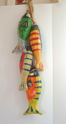 Mexican Handcraft - Paper Mache Fish