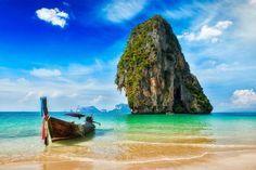 playa de krabi en tailandia