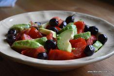 Best Salad Recipes, Fruit Salad, Tofu, Guacamole, Meal Planning, Salads, Good Food, Health Fitness, Tasty