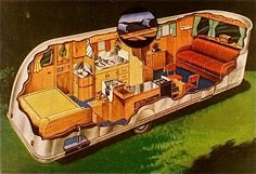 Posts about vintage travel trailers written by Hepcats Haven Vintage Cabin, Vintage Rv, Vintage Campers, Vintage Houses, Spartan Trailer, Trailer Interior, Cool Campers, Remodeling Mobile Homes, Vintage Travel Trailers