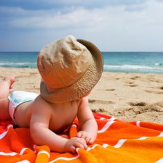 The Best Baby-Friendly Vacation Spots (And Where Not to Go) -- The best family-friendly destinations for your vacation. Get more parenting stories at The Bump. baby Best Places to Vacation With a Baby Baby Beach Pictures, Newborn Pictures, Baby Photos, Toddler Beach Photos, Best Places To Vacation, Vacation Spots, Fotos Strand, Unique Baby Boy Names, Best Baby Toys
