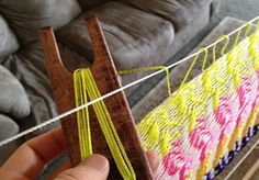 How to weave a mayan hammock