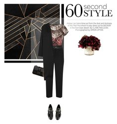 """""""60 second style"""" by kgarden ❤ liked on Polyvore featuring Kershaw, Valentino, Ted Baker, Prada, Tory Burch, Topshop and STELLA McCARTNEY"""
