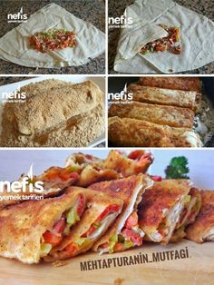 Pizza Geschmack Gebäck - leckere Rezepte - # 4838644 - Pratik Hızlı ve Kolay Yemek Tarifleri Veggie Pizza, Healthy Pizza, Borek Recipe, Gourmet Recipes, Healthy Recipes, Pizza Recipes, Delicious Recipes, Good Food, Yummy Food