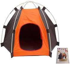 Amicc Portable Folding Dog House tent for indoor,outdoor waterproof -- Find out . : Amicc Portable Folding Dog House tent for indoor,outdoor waterproof — Find out more about the great product at the image link. (This is an affiliate link) Puppy Kennel, Dog Kennel Cover, Diy Dog Kennel, Travel Supplies, Dog Supplies, Outdoor Dog, Indoor Outdoor, Outdoor Travel, Portable Dog Kennels