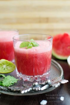 Water Melon Mojito- another one for the back porch